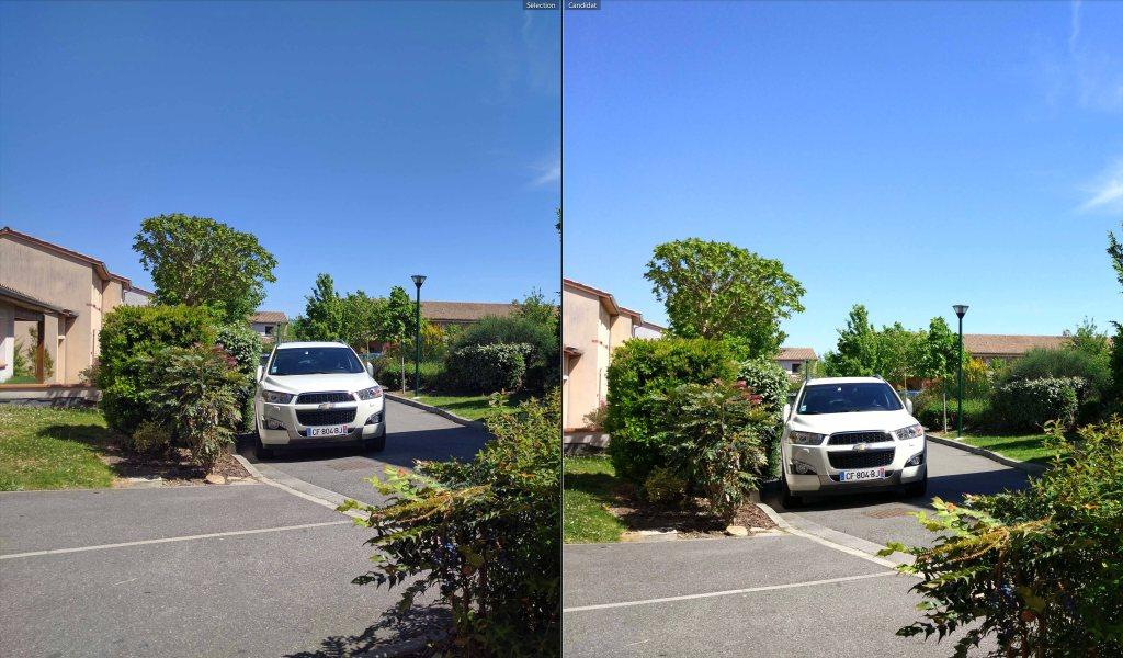 Nexus 6P à gauche, Mi5 à droite