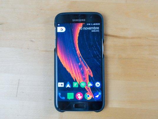 Lens cover pour Galaxy S7