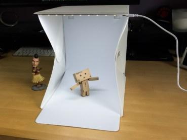 Mini studio photo Zecti
