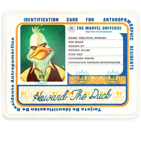 Howard the Duck #1 artwork (Ol' Dirty Bastard's Return to the 36 Chambers: The Dirty Version)