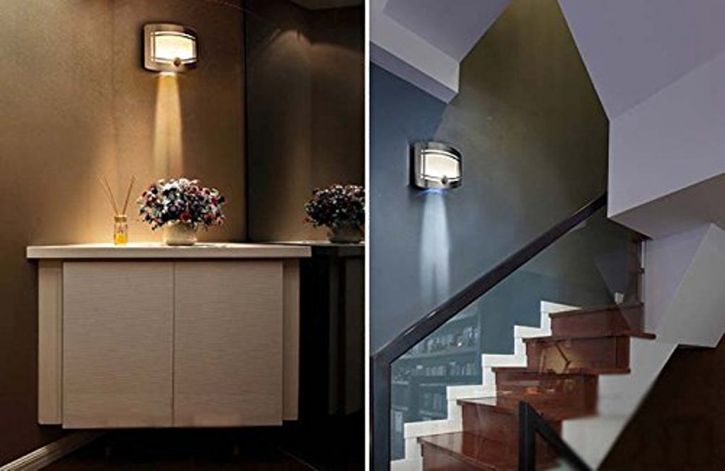 Modern Battery Operated Wall Sconces with Remote Control ... on Battery Powered Wall Sconces id=93069