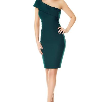 Rochie Elida Verde - Black Friday 2016 Clickshop