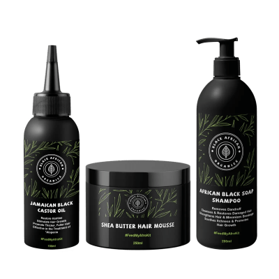 Organic Hair Growth and Care Kit