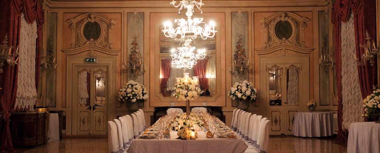 Allestimenti cena matrimonio hotel Luna Baglioni