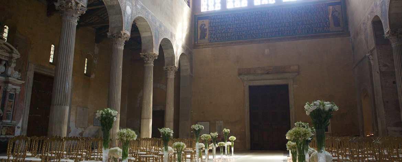 Basilica di Santa Sabina allestimenti