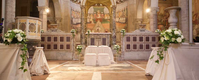 Santi Nereo ed Achilleo altare