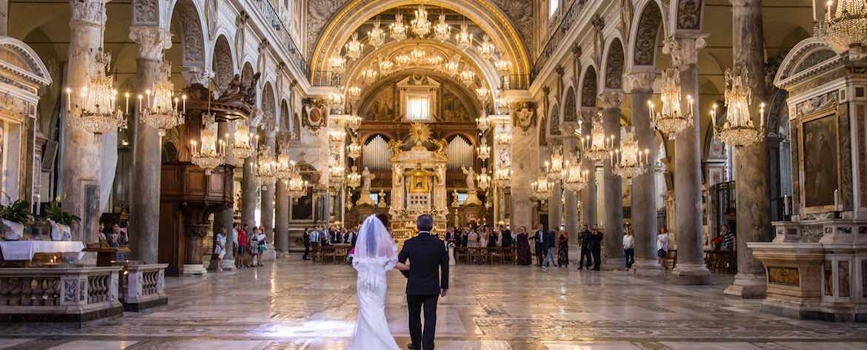 Basilica di Santa Maria in Aracoeli ingresso della sposa