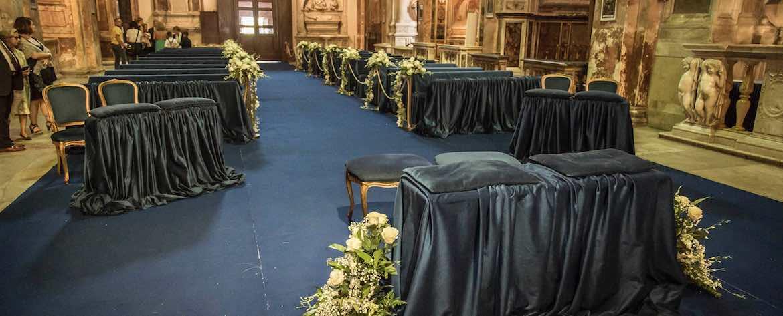 San Pietro in Montorio allestimenti