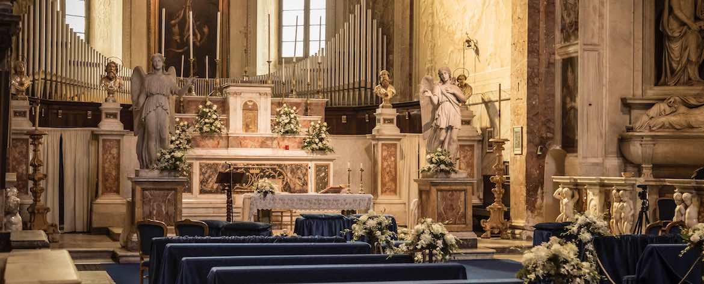 San Pietro in Montorio interior