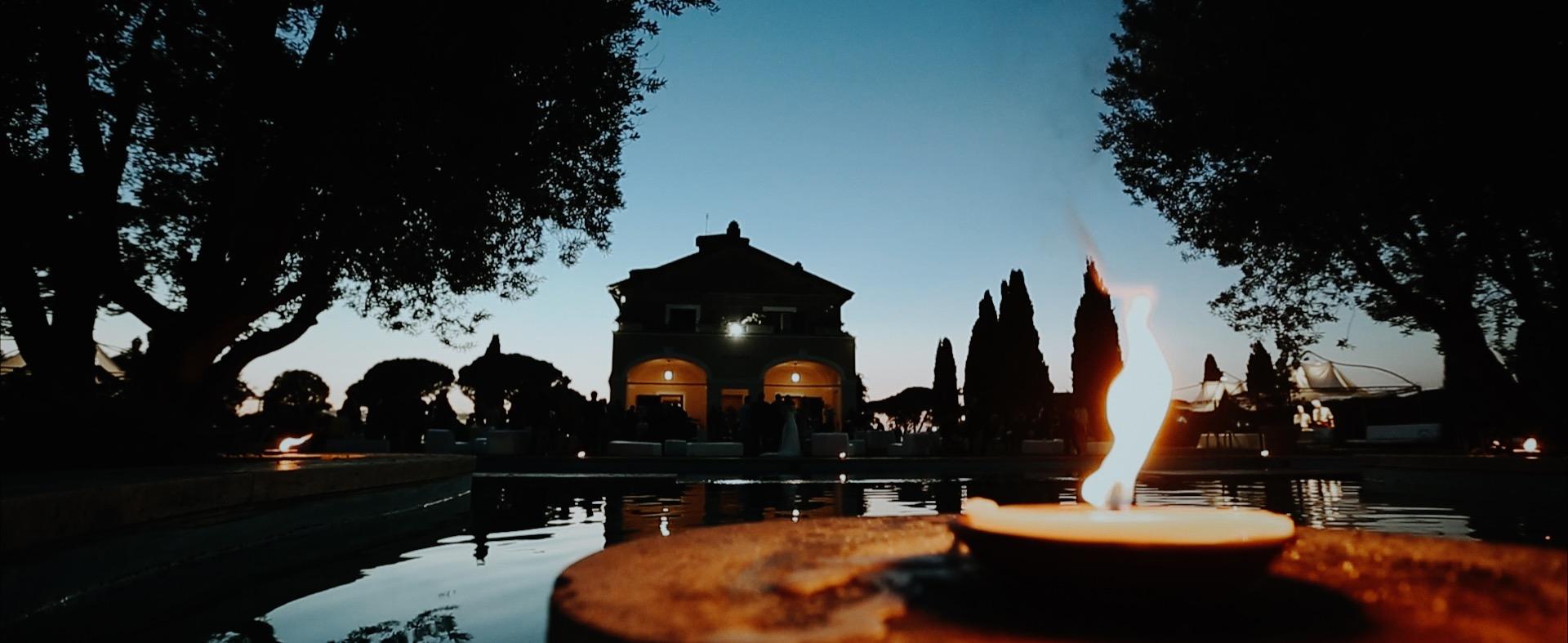 Matrimonio a Villa di Fiorano Chiesa di Santa Cecilia in Trastevere