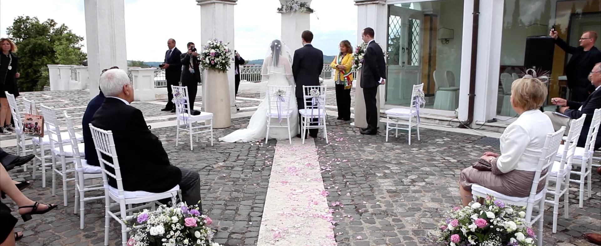 Matrimoni Bassano Romano : Matrimonio casina di poggio della rota rito civile