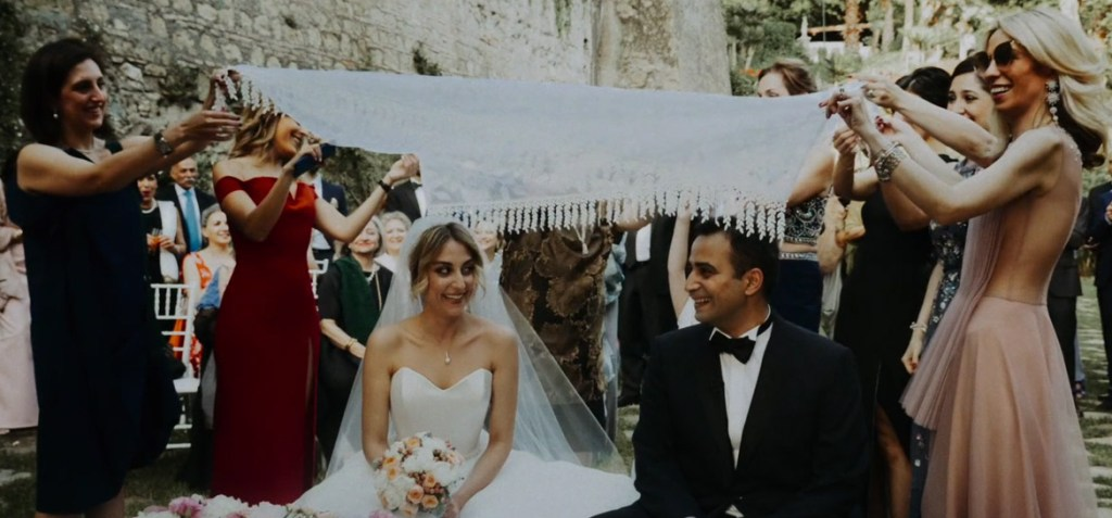 Iranian Wedding in Rome at Castello di Torcrescenza Nina & Mohsen