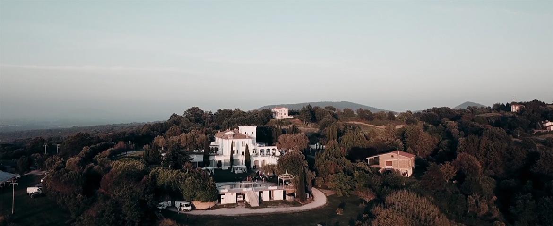 Landscape View of Casina di Poggio della Rota