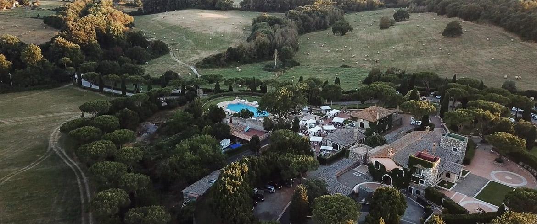 Tenuta di Ripolo Vista dal Drone