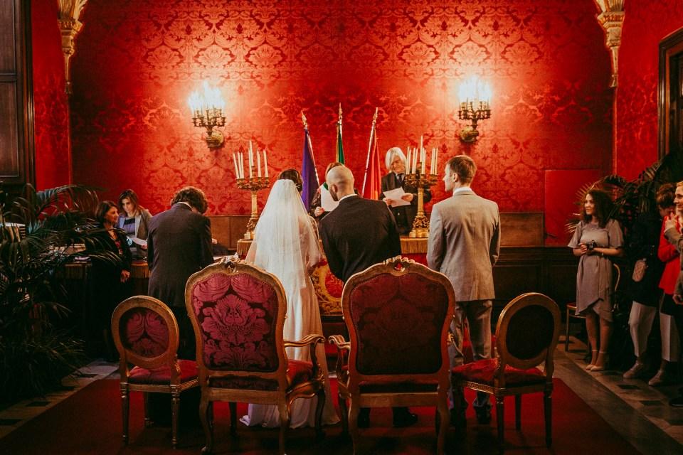 Matrimonio Campidoglio Hotel Forum