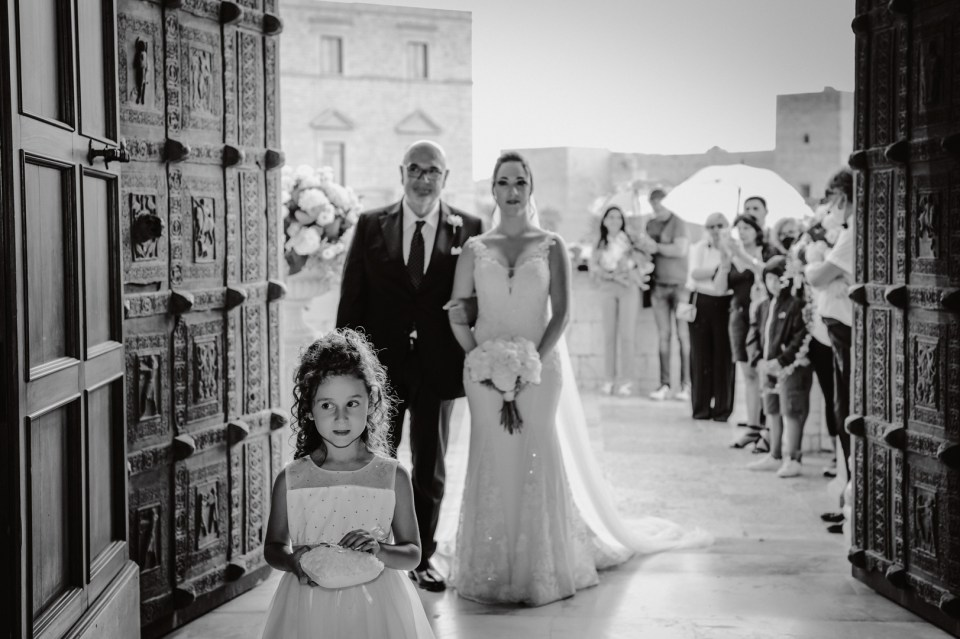 Ingresso della Sposa nella Cattedrale