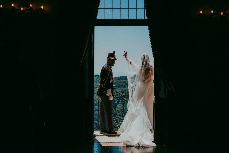 Arrivo in Villa degli Sposi