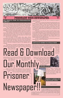 Read our monthly prisoner newspaper