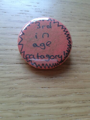 My daughter made me this badge