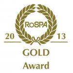 Rospa_Gold_Award