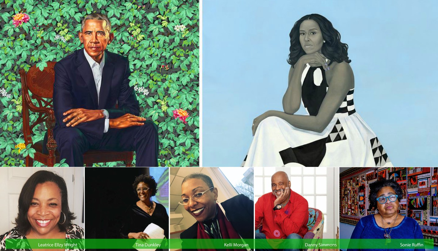 BAIA Talks: Five Arts Professionals Offer Perspective on Official Obama Portraits