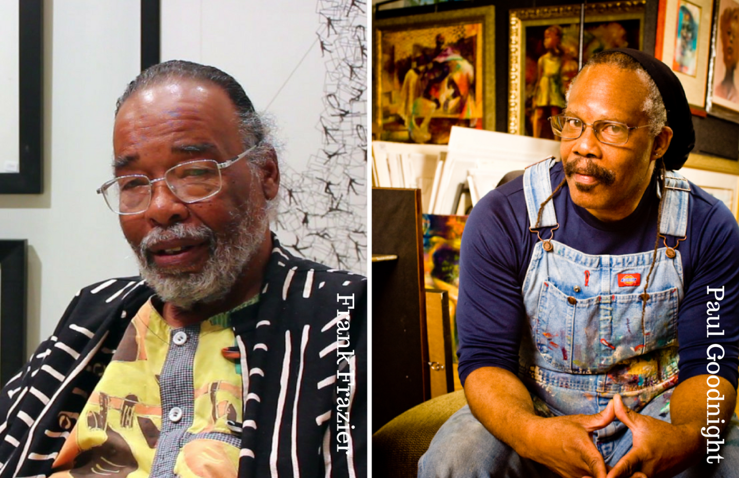 BAIA Talks: Frank Frazier & Paul Goodnight Share Some Thoughts on Art and Military Service for upcoming MIA Show