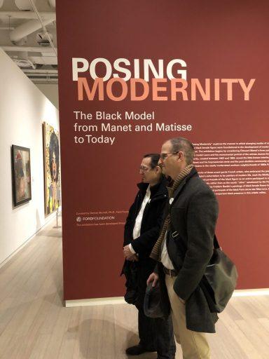posing modernity