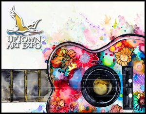 Uptown art expo 2019-poster