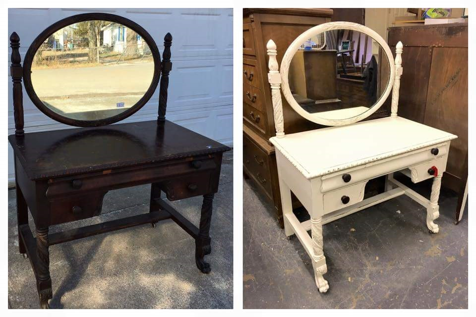Before/After, Home Cooked Bread, New Beginnings Furniture