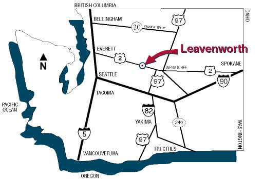 Image result for images of highway 2 in leavenworth