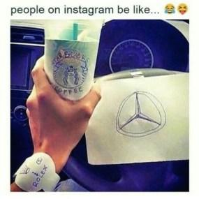 fake rich instagram
