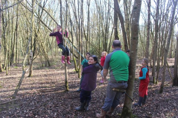Forest School - Class 4 - Ropes (1)