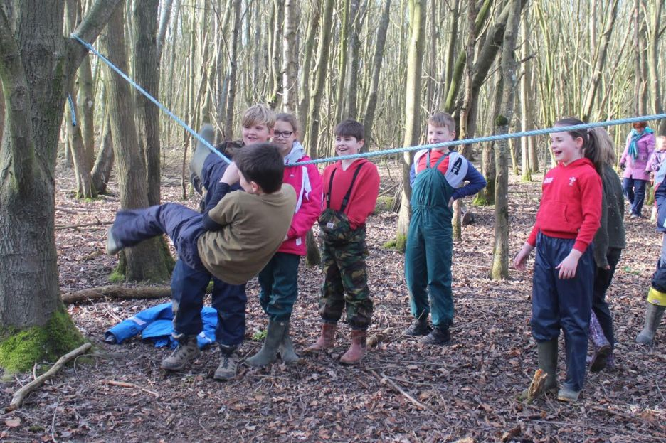 Forest School - Class 4 - Ropes (4)