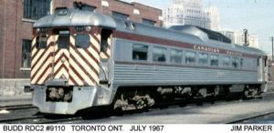 CPR Passenger Cars Non H'weight sleepers