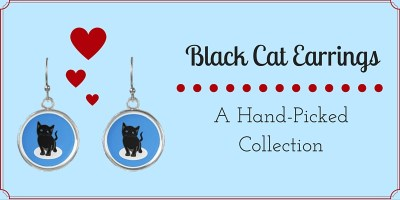 Black Cat Earrings_FI