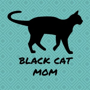 Black Cat Mom Design