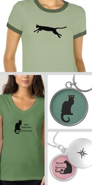 Black Cat Zazzle Gifts 2