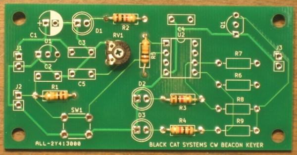 User Programmable Ham / Amateur Radio CW Keyer Kit For Beacons