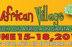 A Touch of Africa in Santa Cruz 2017