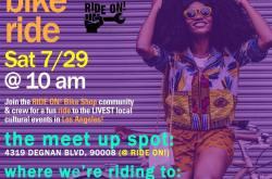 RIDE ON! Bike Shop Community Bike Ride