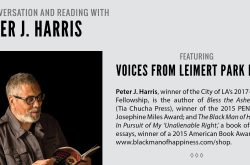 A Conversation and Reading with Peter J. Harris