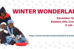 Winter Wonderland @ Baldwin Hills Crenshaw