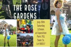 Art & Jazz in the Rose Gardens