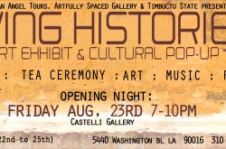 Living Histories Opening Reception
