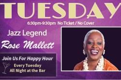 Rose Mallett, Jazz Hall of Fame