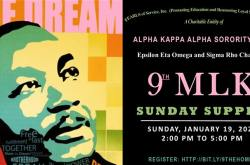 9th Annual MLK Sunday Supper & Discussion