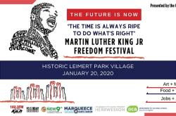 2020 Martin Luther King Jr. Freedom Festival in Leimert Park