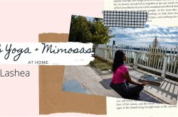 Online R&B Yoga + Mimosas + Fun