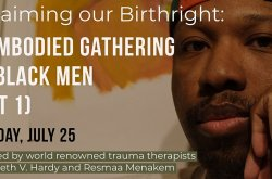 Reclaiming our Birthright: An Embodied Gathering for Black Men ( PART 1)