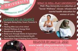 Well-Play University – Spring/Summer Semester Registration
